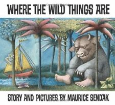 Where The Wild Things Are by Maurice Sendak (2012, Paperback, Anniversary) Book