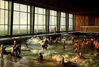 Westerland Insel Sylt 1972 Personen Leute im Wasserbecken Meerwasser Wellenbad