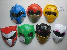 Power Rangers Doubutsu Sentai Zyuohger set of 7 PVC play face mask pretend play