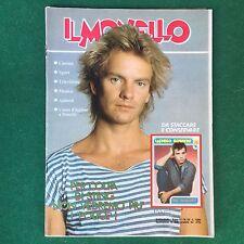 Rivista IL MONELLO n.22 1985 (ITA) STING POLICE PRINCE DEAD OR ALIVE PETE BURNS