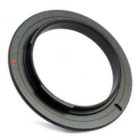 49 55 52 58 62 67 72 77MM Lens Adapter Macro Reverse Ring For Canon EOS Camera
