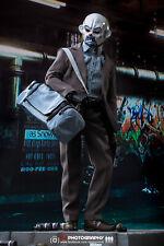 Hot Toys Suicide Squad Joker Violet Manteau Ver Bottes Noires /& Peg loose échelle 1//6th