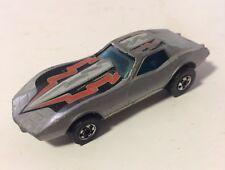 Hot Wheels Gray Corvette Stingray Grey Vintage 1975 Diecast Car -  VERY RARE
