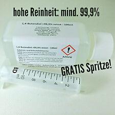 100ml 1.4-Butandiol 1,4 BDO 99,9% made in Germany Reiniger flüssig CAS 110-63-4