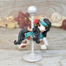 Esmé - Handmade polymer clay pony