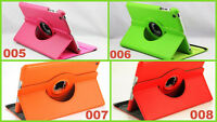 360 ° Case Tasche Smart Schutz hülle Flip Etui Cover Apple iPad mini 1 / 2 / 3