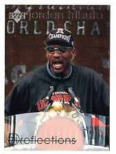 Michael Jordan 97 Upper Deck REFLECTION GOD Disguised as Jordan Basketball Card