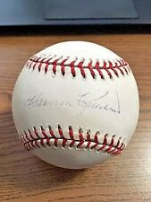 HARMON KILLEBREW 4 SIGNED AUTOGRAPHED OML BASEBALL! Senators & Twins! HOF! MM