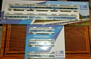 Rivarossi Intercitynight DB Ag Livery White/Blue/Celeste Compost For 9 Coaches