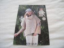 Sirdar Girls Ponchoes Patterns