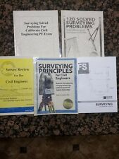 Surveying for California Civil Eng PE License