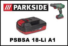 Bateria taladro Parkside 18V Li Battery Drill PAP 18 A1 driver PSBSA 18-Li A1 B2