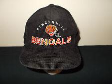 d73f2ec1f30 VTG-1980s Cincinnati Bengals Sports Specialties corduroy snapback hat sku18