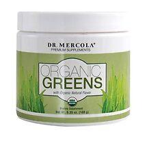 Dr. Mercola Organic Greens - Gluten Free - Non-GMO - 60 Servings - 6.35 oz