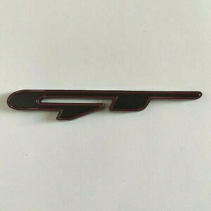 Noir Rouge Métal Gt Badge Autocollant Pour Ford MUSTANG F150 Bord Ecosport