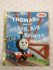 Thomas and the Big Big Bridge Thomas & Friends Little Golden Book
