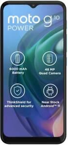 "MOTOROLA G10 Power (4GB RAM, 64GB Storage) 6.51"" Camera 48+8+2MP Dual SIM Phone"