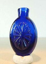 Sunburst Cologne/Scent/Pungent Bottle  HVII-1  Cobalt  ca. 1815 - 1835