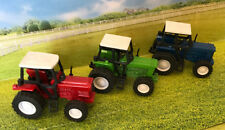 G-scale 1/32 Set Of 3 Farm Utility Tractors for Farm Scene or a Flatcar Load