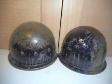 DIANA WORTHY CHRICH BRITISH STUDIO POTTERY BROWN TREES PAIR OF DOME BOOKENDS