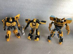 Transformers Movie Deluxe Class Bumblebee Bundle Hasbro 2007