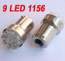 4x Weiß 9 LED Hinter Sidelight Seitenblinker Glühlampe 12V BA15S 1156