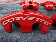 Red & Black  PC  05-12 Corvette  C6 F & R  Z51 or   ,base   Calipers