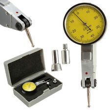 Dial Gauge Test Indicator Precision Metric with Dovetail Rails 0-40-0 0.01mm