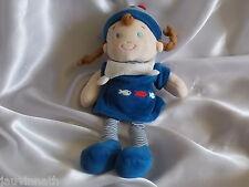 Doudou poupée fille, marin, Mots d'enfants