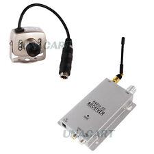 6 LED Pinhole Mini Hidden Wireless Camera Kit Security Video Surveillance System