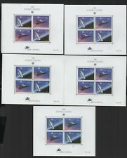 S  1262   Portugal/Azores.   Europa Cept 1991. Space.   Block MNH