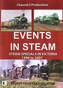Events in Steam - Steam Specials in Victoria 1996 - 2001 (DVD)