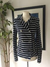 Marc Cain Stripe Stretch Jacket Size N3 (10-12)