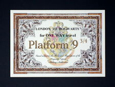 Harry Potter gift - Hogwarts Express Ticket