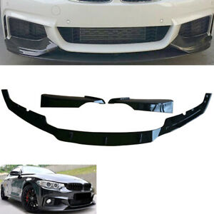 FIT BMW 4 SERIES F32 F33 F36 FRONT DIFFUSER SPLITTER VALANCE SPOILER SIDE SKIRTS