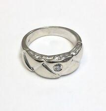 Goldring 585er oro corazón anillo dorado 14kt señora anillo Anillo de banda talla 48 hasta 60