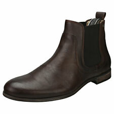 Sneaky Steve Cumberland Mens Brown Leather Chelsea Boots