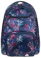 Roxy Shadow Swell Backpack - Dress Blues Cariban Flowers - New