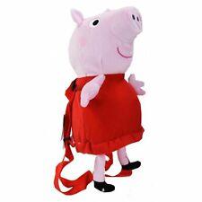 """Peppa Pig 14"""" Plush Backpack"""
