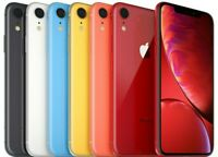 Apple iPhone XR 64 128 256GB Black White Red Yellow Coral Blue Factory Unlocked