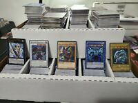 Yugioh 250 Card Lot 200 Commons 25 Rares 25 Holo