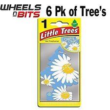 6x Gänseblümchenkette Duft Magic Tree Klein Bäume Auto Heim Lufterfrischer