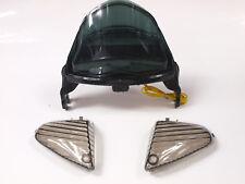 Feu LED + clignotants intégrés SUZUKI GSXR 1000 2005 2006 FUME