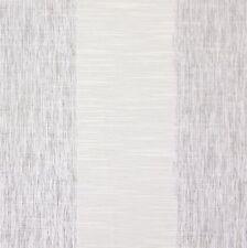 Cotton Blend Tab Top Striped Curtains & Pelmets