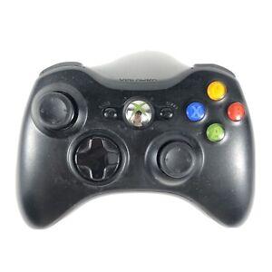 Xbox 360 Wireless Controller Gamepad Black OEM Original Microsoft