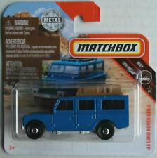 Matchbox 1965 Land Rover Gen II blau Neu/OVP Geländewagen Oldtimer MBX Mattel 65