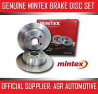 MINTEX REAR BRAKE DISCS MDC1764 FOR OPEL VIVARO 2.0 TD 2006-
