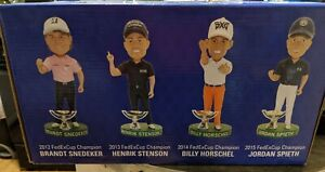 10th Anniversary FEDEX CUP Champion COMMEMORATIVE Bobblehead COLLECTION