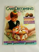 Wilton Cake Decorating Yearbook 1984-You Can Do It Book Ideas Candy Instructions