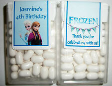 28 DISNEY FROZEN BIRTHDAY PARTY FAVORS TIC TAC LABELS ~ PERSONALIZED